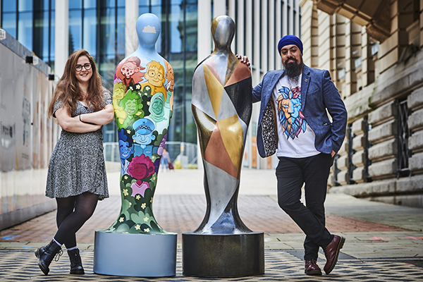Jess Perrin and MrASingh