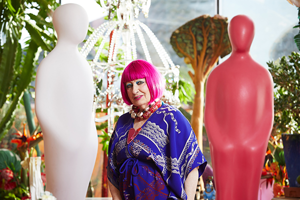 Dame Zandra Rhodes, Creative Ambassador for Gratitude